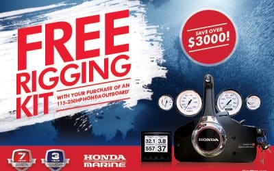 Free Honda Rigging Kit Offer