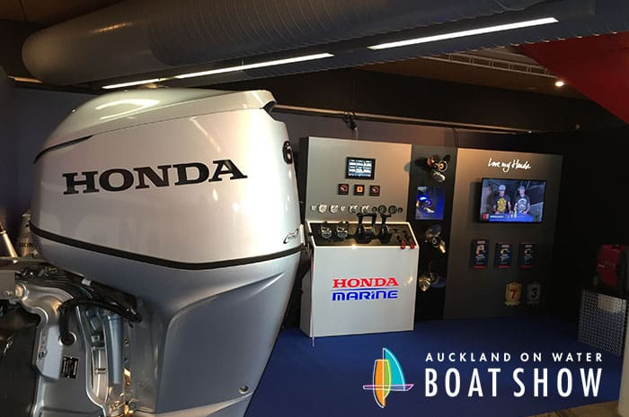 Honda on the water